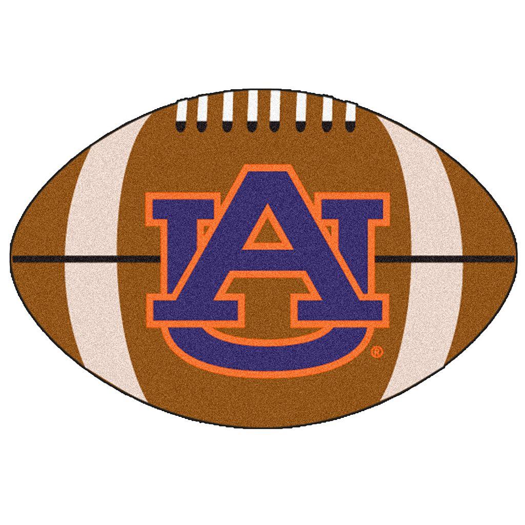 FANMATS® Auburn Tigers Football Rug