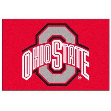 FANMATS Ohio State Buckeyes Rug