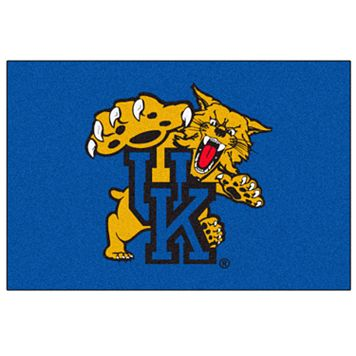 FANMATS Kentucky Wildcats Blue Rug