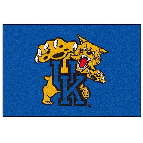 FANMATS Kentucky Wildcats Blue Rug