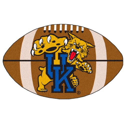 FANMATS Kentucky Wildcats Football Rug
