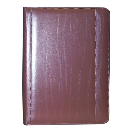 Royce Leather Zip-Around Padfolio