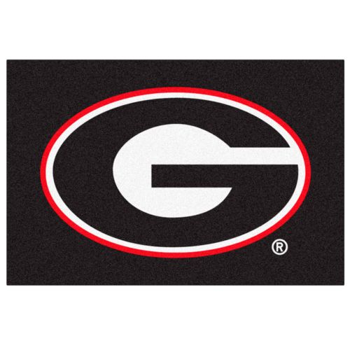 FANMATS Georgia Bulldogs Rug