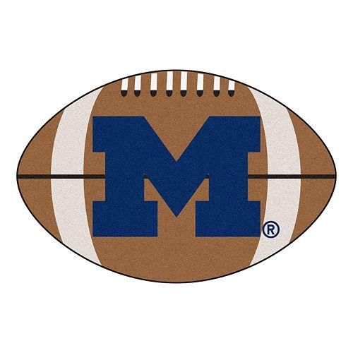 FANMATS® Michigan Wolverines Football Rug
