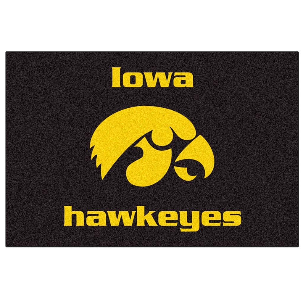 FANMATS® Iowa Hawkeyes Rug
