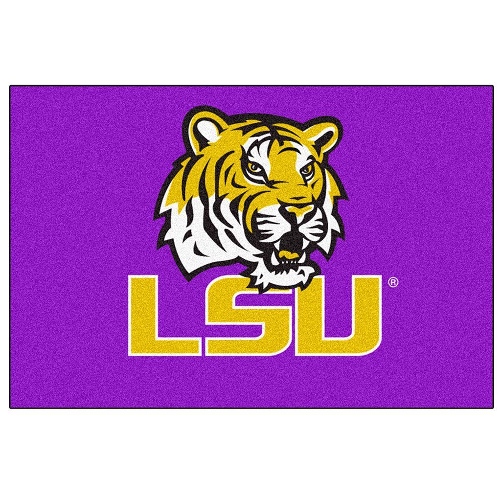 FANMATS Louisiana State Tigers Rug