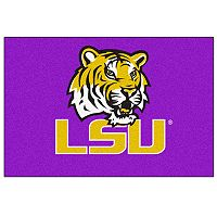 FANMATS Louisiana State Tigers Rug
