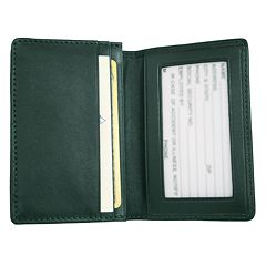 Royce Leather Deluxe Card Holder
