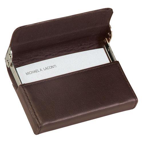 Royce Leather Framed Card Case