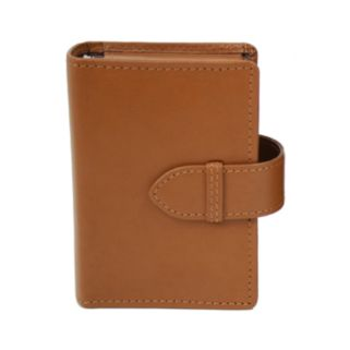 Royce Leather Double Decker Card Case