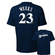 Majestic Milwaukee Brewers Rickie Weeks Tee