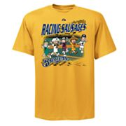 Majestic Milwaukee Brewers Racing Sausages Tee