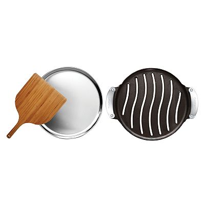 Cuisinart Cast-Iron Grilled Pizza Set