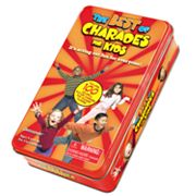 The Best of Charades for Kids Mini Tin by Pressman