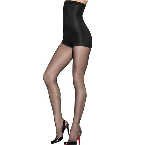 0e49299341d Hanes Silk Reflections High-Waist Control-Top Sheer Pantyhose