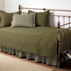 Trellis 5-pc. Floral and Striped Daybed Set