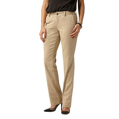 Dockers Oh, My! Soft Khaki Straight-Leg Pants