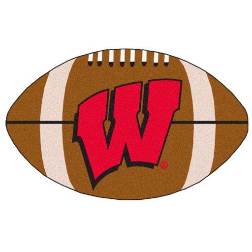 FANMATS Wisconsin Badgers Rug