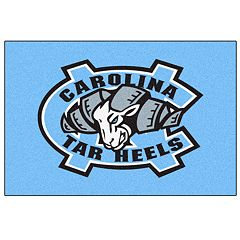 FANMATS North Carolina Tar Heels Logo Rug