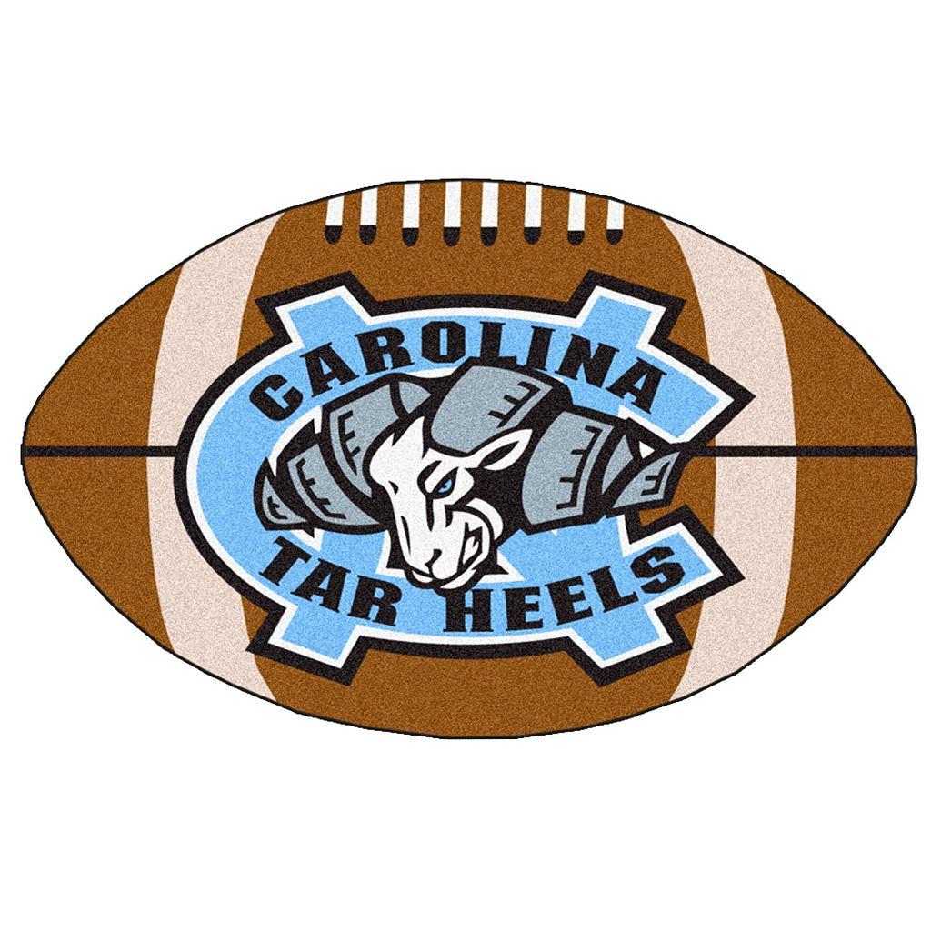 FANMATS North Carolina Tar Heels Football Rug