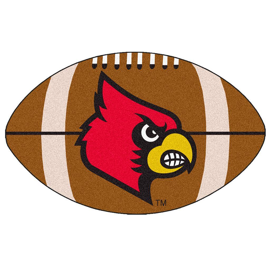 FANMATS Louisville Cardinals Football Rug