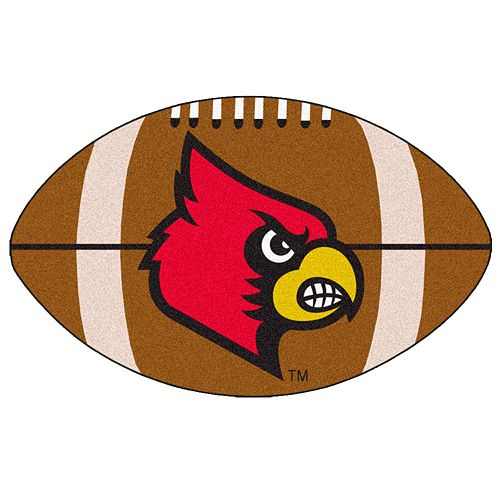 FANMATS Louisville Cardinals Football Rug