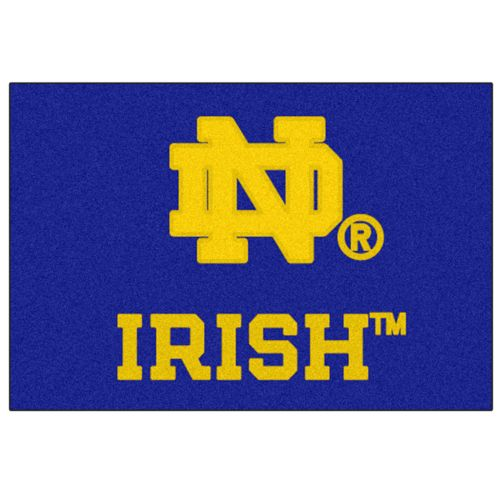 FANMATS Notre Dame Fighting Irish Rug