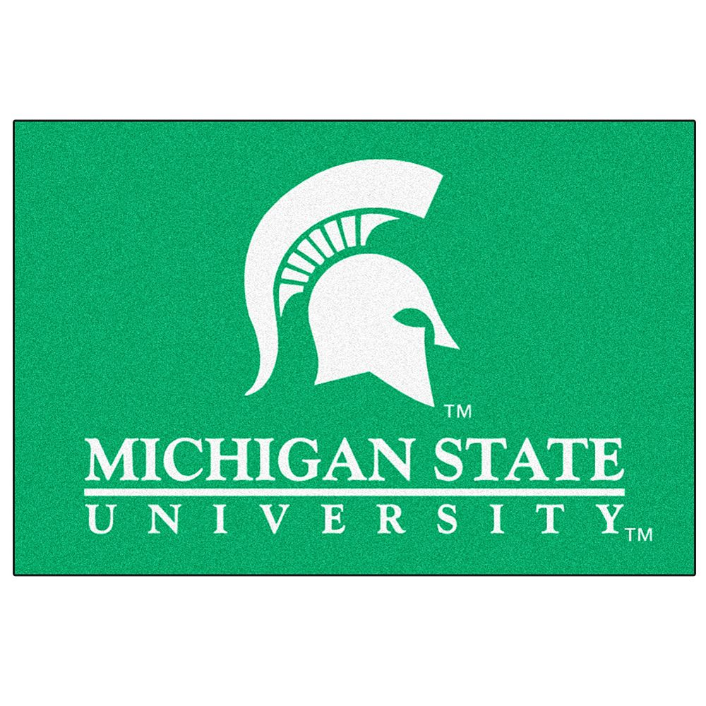 FANMATS Michigan State Spartans Rug