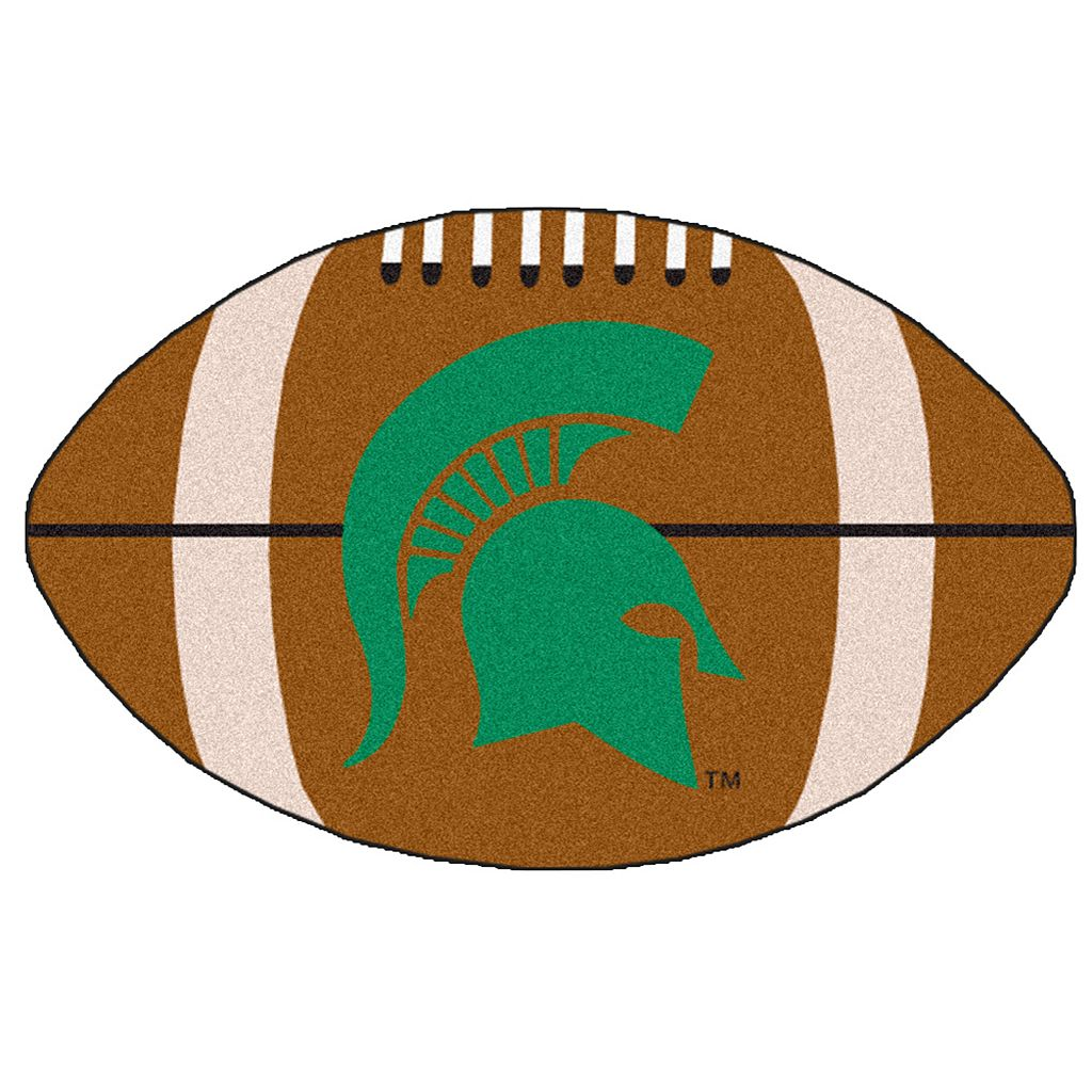 FANMATS Michigan State Spartans Football Rug
