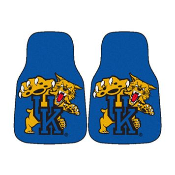 FANMATS® 2-pk. Kentucky Wildcats Car Floor Mats