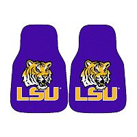 FANMATS® 2-pk. LSU Tigers Car Floor Mats