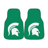 FANMATS® 2-pk. Michigan State Spartans Car Floor Mats