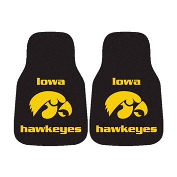 FANMATS® 2-pk. Iowa Hawkeyes Car Floor Mats
