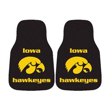 FANMATS® 2-pk. Iowa Hawkeyes Car Floor Mats