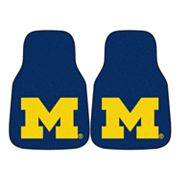 FANMATS 2-pk. Michigan Wolverines Car Floor Mats