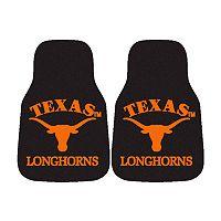 FANMATS® 2-pk. Texas Longhorns Car Floor Mats