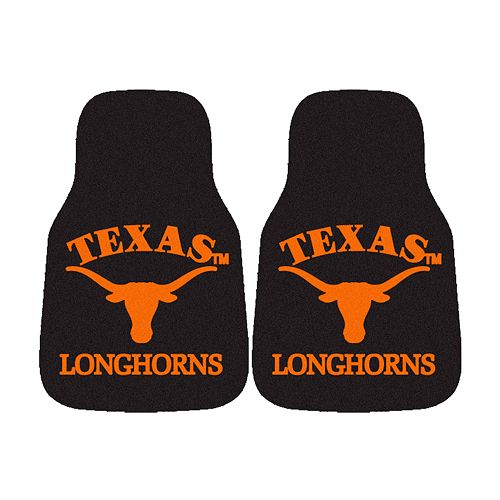FANMATS® 2-pk. Texas Longhorns Car Floor Mats