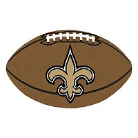 FANMATS® New Orleans Saints Football Rug