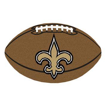 FANMATS® New Orleans Saints Football Rug