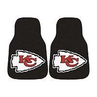 FANMATS® 2 pkKansas City Chiefs Car Floor Mats