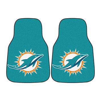 FANMATS® 2-pk. Miami Dolphins Car Floor Mats