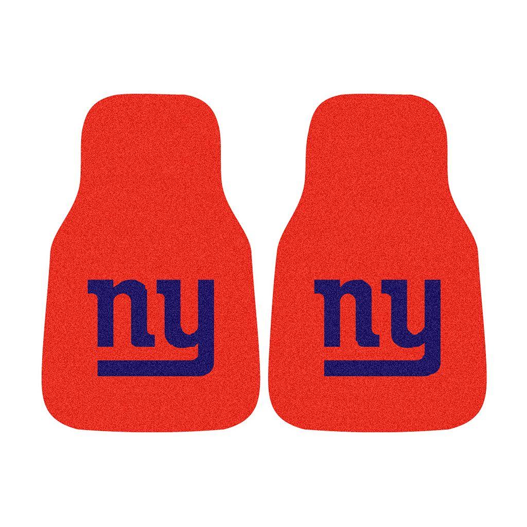 FANMATS® 2-pk. New York Giants Car Floor Mats