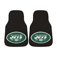 FANMATS® 2-pk. New York Jets Car Floor Mats