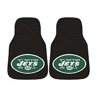 FANMATS® 2 pkNew York Jets Car Floor Mats