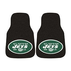 FANMATS® 2 pkNew York Jets Car Floor Mats