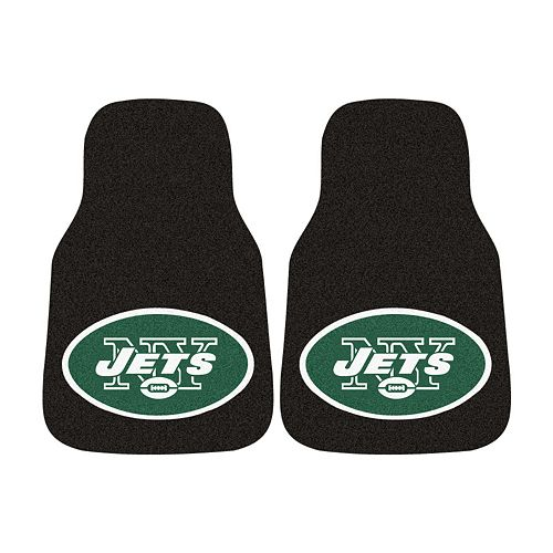 FANMATS® 2-pk. New York Jets Car Floor Mats