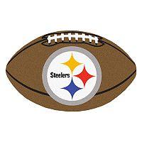FANMATS Pittsburgh Steelers Football Rug