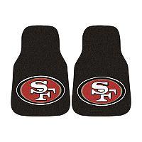 FANMATS® 2-pk. San Francisco 49ers Car Floor Mats