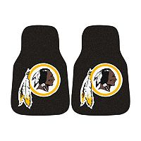 FANMATS® 2 pkWashington Redskins Car Floor Mats