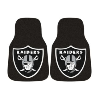 FANMATS 2-pk. Oakland Raiders Car Floor Mats